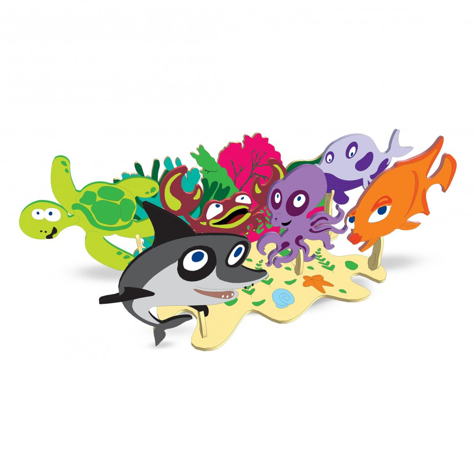 Woody Sea Creatures