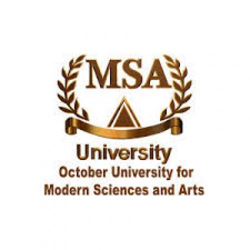 جامعة اكتوبر للعلوم الحديثة والاداب